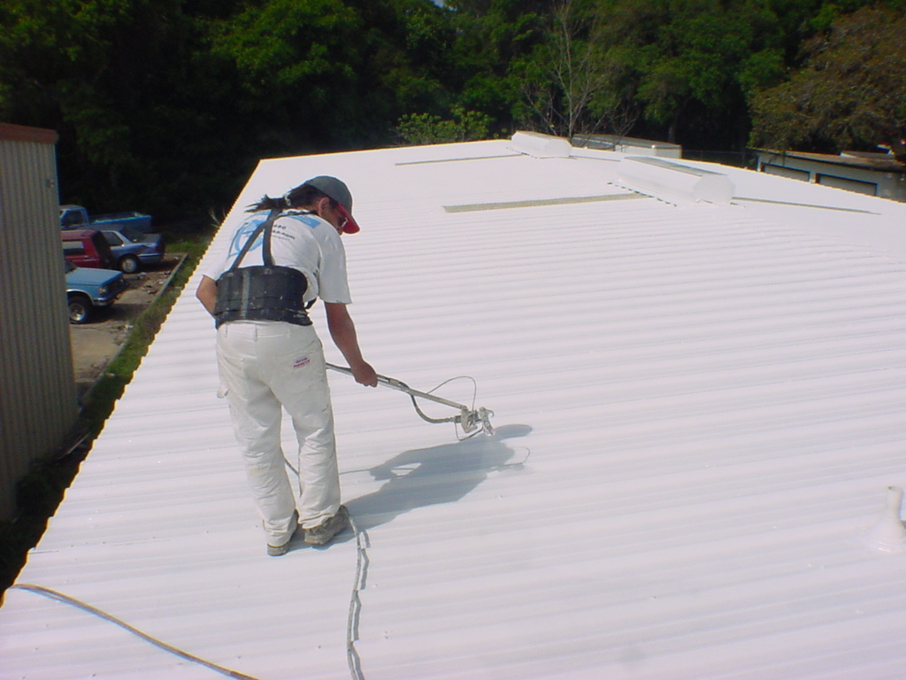 Foam Roof Repair